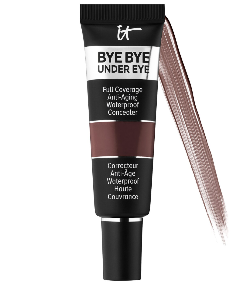 """<p><strong>IT Cosmetics</strong></p><p>sephora.com</p><p><strong>$28.00</strong></p><p><a href=""""https://go.redirectingat.com?id=74968X1596630&url=https%3A%2F%2Fwww.sephora.com%2Fproduct%2Fbye-bye-under-eye-full-coverage-anti-aging-waterproof-concealer-P437987&sref=https%3A%2F%2Fwww.thepioneerwoman.com%2Fbeauty%2Fskin-makeup-nails%2Fg36563969%2Fbest-concealers-for-mature-skin%2F"""" rel=""""nofollow noopener"""" target=""""_blank"""" data-ylk=""""slk:Shop Now"""" class=""""link rapid-noclick-resp"""">Shop Now</a></p><p>If dark under-eye circles are your biggest consideration when looking for a high-quality concealer, look no further than this fan-favorite from IT Cosmetics. The longwear, waterproof formula is sold in 24 shades, all of which will conceal your circles without creasing into fine lines.</p>"""
