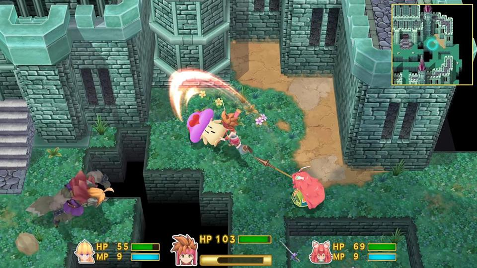 'Secret of Mana's' jump to 3D hasn't been kind to the classic.