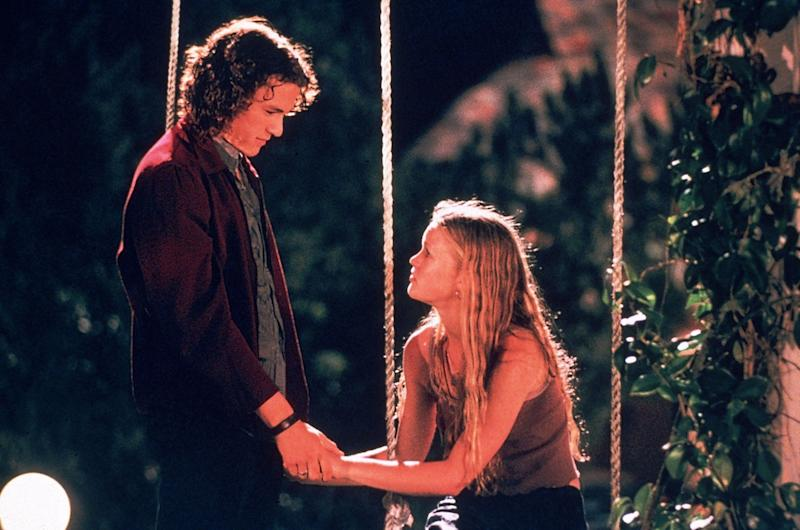 Patrick (Ledger) tames the shrew in '10 Things I Hate About You'Buena Vista