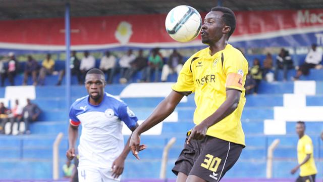 The towering Mieno signed for the Kenyan champions on a three year contract after being released by Tusker a week ago
