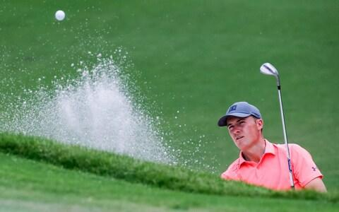 Jordan Spieth said his second round was a 'grind' - Credit: USA Today