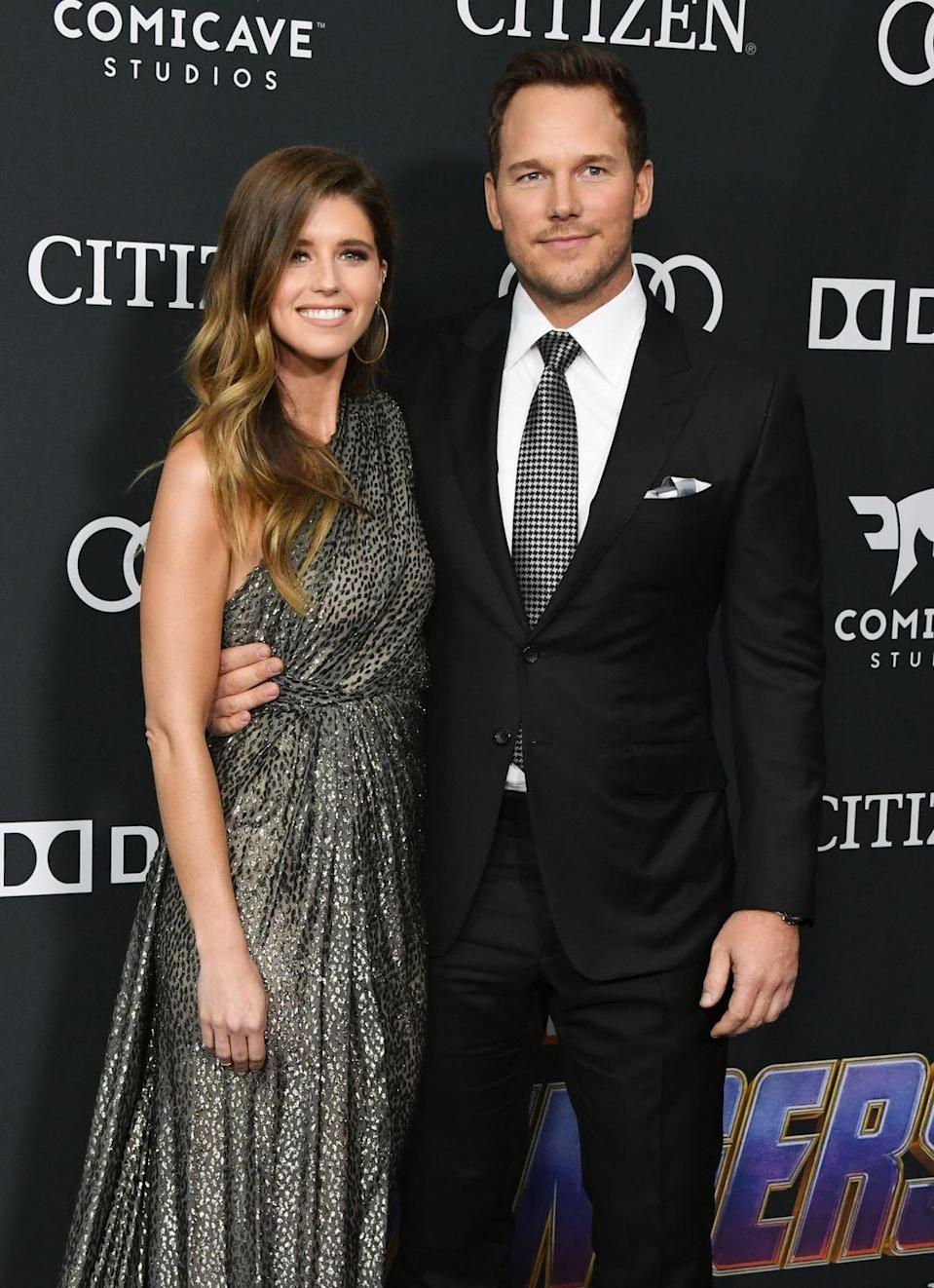 <p><strong>Age gap: </strong>10 years </p><p>Chris Pratt and Katherine Schwarzenegger announced their engagement in January 2019, after keeping a low profile at the beginning of their relationship. The couple were married in June in a private ceremony. Pratt divorced actress Anna Faris in 2018, but the two still coparent their son Jack. </p>