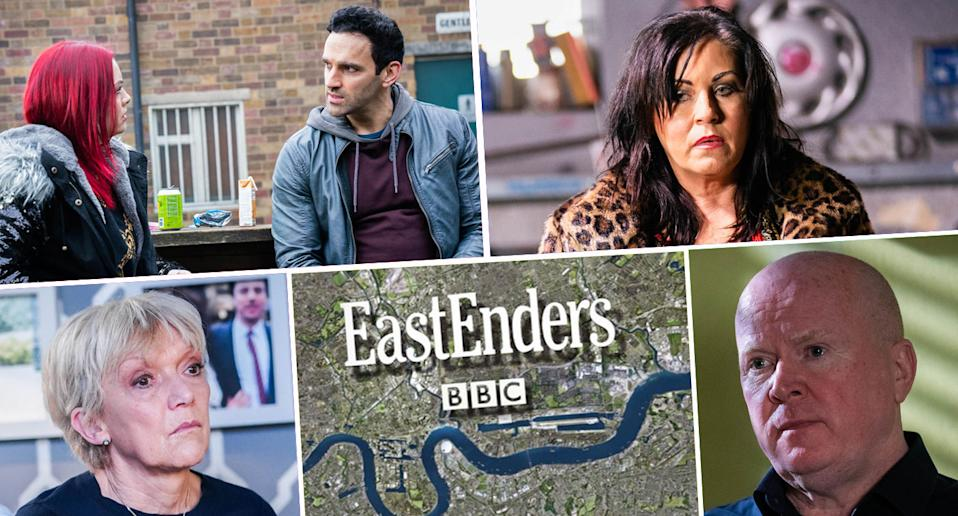 Take a look ahead to next week on EastEnders (BBC)