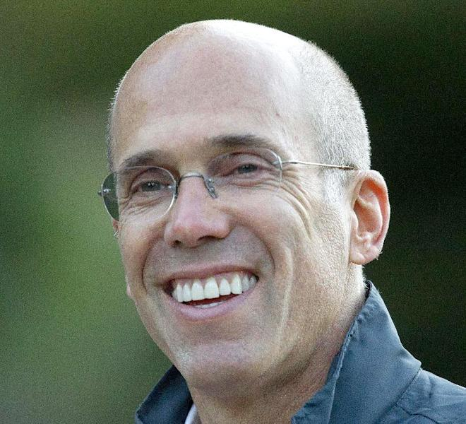 "FILE - In this July 7, 2011, file photo, Jeffrey Katzenberg, CEO of DreamWorks Animation is seen in Sun Valley, Idaho. John Ramsey stands out in a new campaign finance world order filled with big names like Republican casino mogul Sheldon Adelson and Democratic Hollywood producer Jeffrey Katzenberg. The little-known senior at Stephen F. Austin University.is the founder of a team of college-aged Republicans that liberals have dubbed the ""Brat PAC,"" which helped propel one congressional candidate to victory and intends to get involved in other House races. And he's just the latest wealthy individual to try to influence federal elections in the wake of a series of federal court decisions that deregulated the campaign finance system and dramatically changed the country's political landscape. (AP Photo/Julie Jacobson, File)"