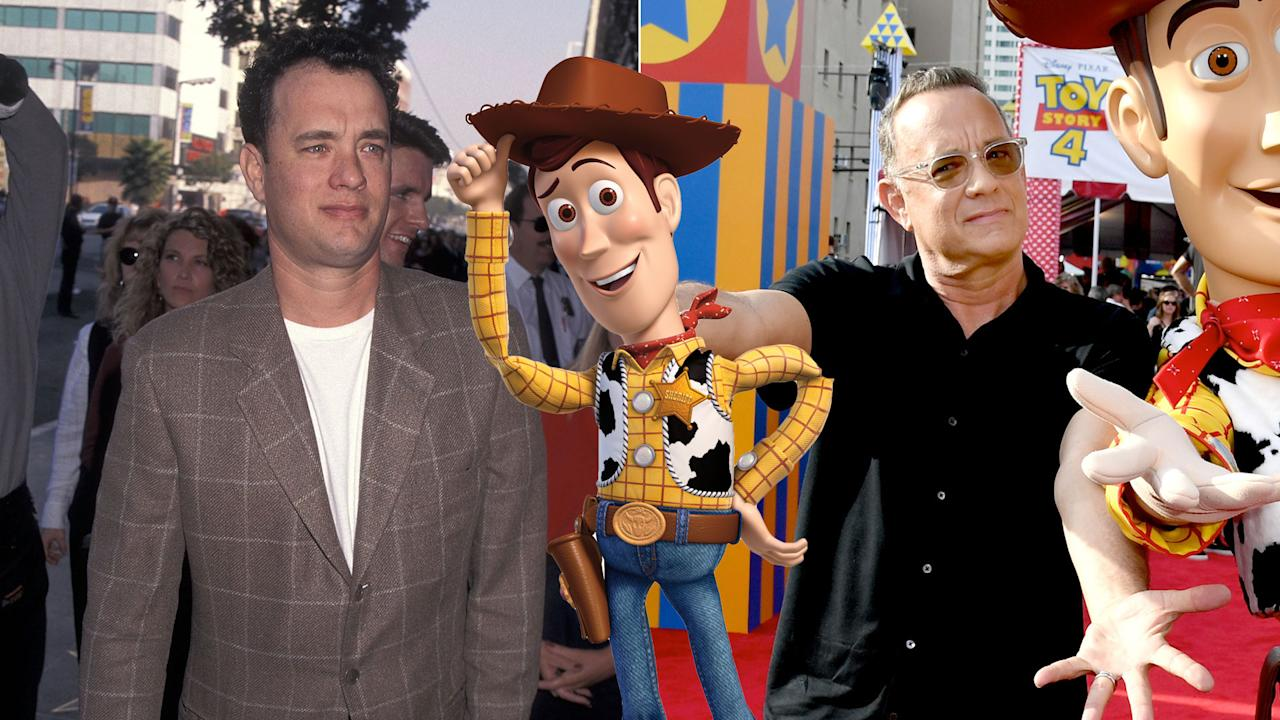 "Despite winning two oscars, Sheriff Woody remains one Tom Hanks' most iconic role. Fun Woody fact #1: Woody's <a href=""https://twitter.com/leeunkrich/status/3091420661"">last name is Pride</a>. Fun Woody fact #2: Tom's brother <a href=""https://www.buzzfeed.com/stephenlaconte/i-just-found-out-that-tom-hanks-brother-does-a-lot-of"">Jim Hanks often voices Woody</a> for the video games and toys."
