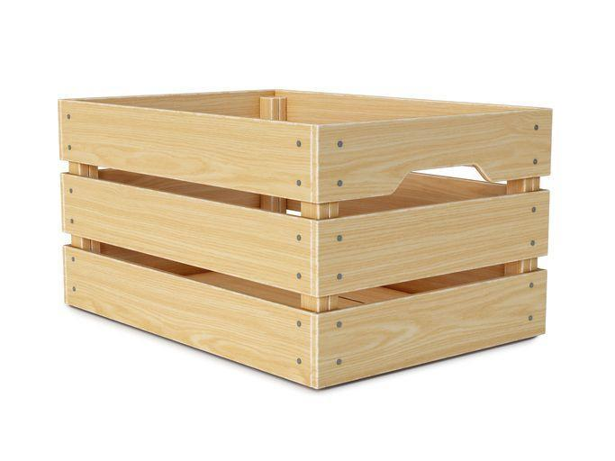 <p>Flip a sturdy wooden crate upside down and make sure it's large enough for plyometric work such as box jumps or simple step-ups. Before jumping on it, give it a weight test by standing on top and performing small hops to ensure its stability.</p>