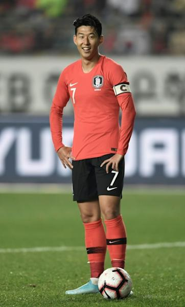 Tottenham star Son Heung-min is in the South Korea squad