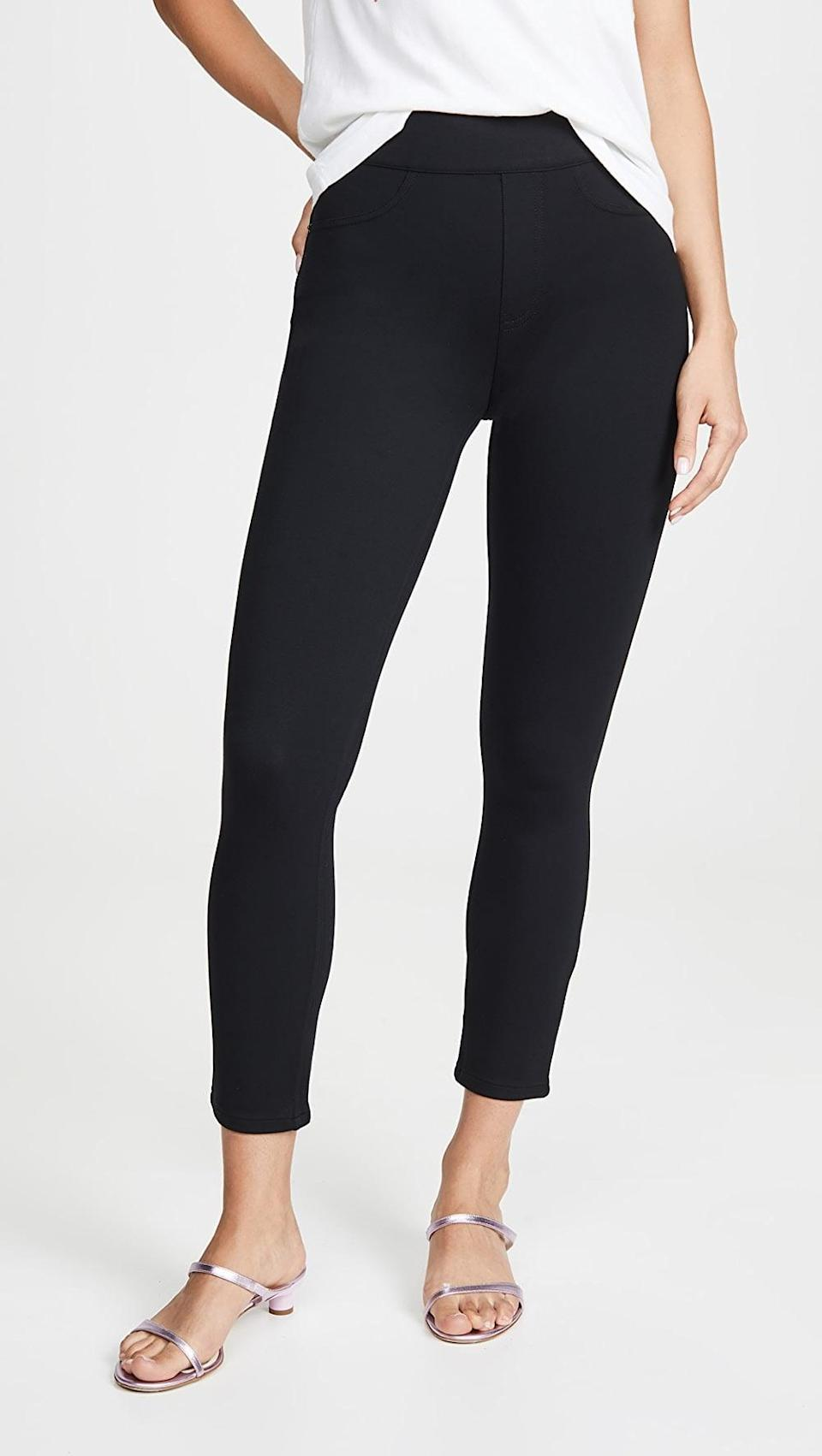 <p>These <span>Spanx Ponte Leggings</span> ($110) will feel soft and comfortable on your skin.</p>