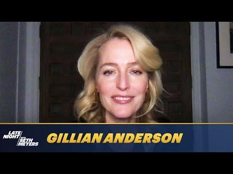 """<p>On Tuesday (January 26) Gillian Anderson appeared on the Late Show With Seth Meyers and discussed previously unseen footage of the entire season four cast of The Crown - in costume - dancing. Were they practising the waltz for their state dinner ballroom scenes, you ask? No, it was to Lizzo's 'Good As Hell'.</p><p>Explaining the situation, Anderson said that firstly that video was 'never supposed to see the light of day', is secondly 'so humiliating' and that thirdly it was all Olivia Colman's idea.</p><p>'Olivia does a dance class in the area she lives with a bunch of friends.. and the last time she did the class they danced to that Lizzo song and she asked if we would happen to be interested in doing it and she would video it and she would share it with her friends, the other dancers...' she noted. </p><p>Well we are very grateful for it.</p><p><a href=""""https://www.youtube.com/watch?v=yl1JsZBDjBo"""" rel=""""nofollow noopener"""" target=""""_blank"""" data-ylk=""""slk:See the original post on Youtube"""" class=""""link rapid-noclick-resp"""">See the original post on Youtube</a></p>"""