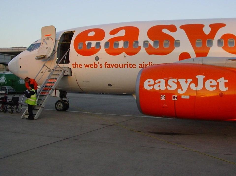Starting gate: easyJet began by flying Boeing 737 jets, though it now flies exclusively Airbus aircraft (Simon Calder)