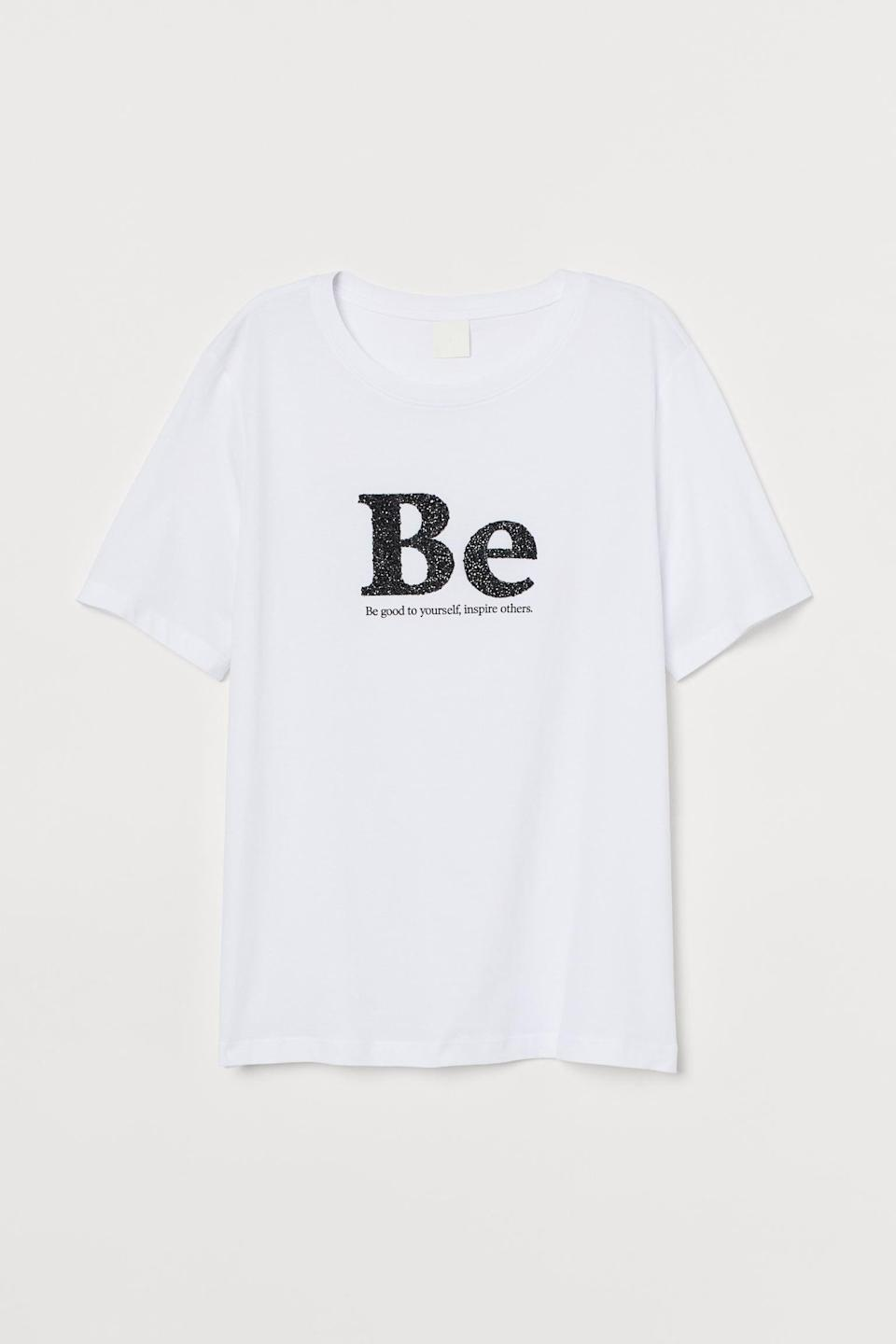 <p>This <span>Printed T-shirt</span> ($10) is timeless in its relevance.</p>