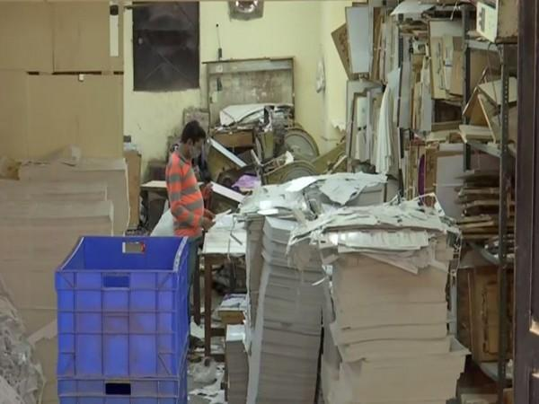 Factory at Okhla Industrial Area (Photo/ANI)