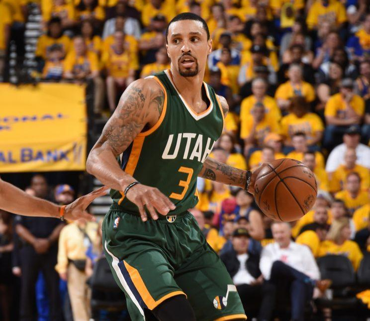 Hill had just seven points in a Game 1 loss to the Warriors. (Getty)