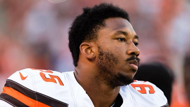 Top draft pick Myles Garrett is set to make his NFL debut when the Cleveland Browns face the New York Jets.