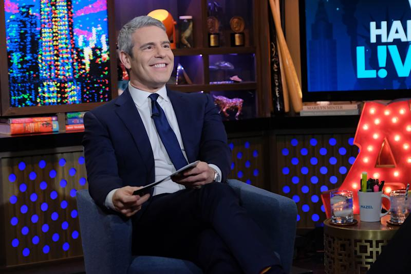 Andy Cohen Set To Return To 'WWHL' Tonight, Says He's 'Feeling Better'!