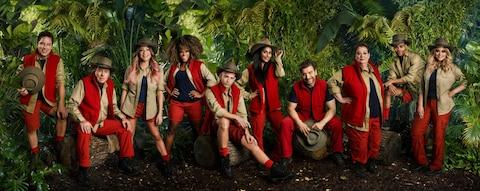The cast of I'm a Celebrity...'s eighteenth series - Credit:  Joel Anderson/ITV