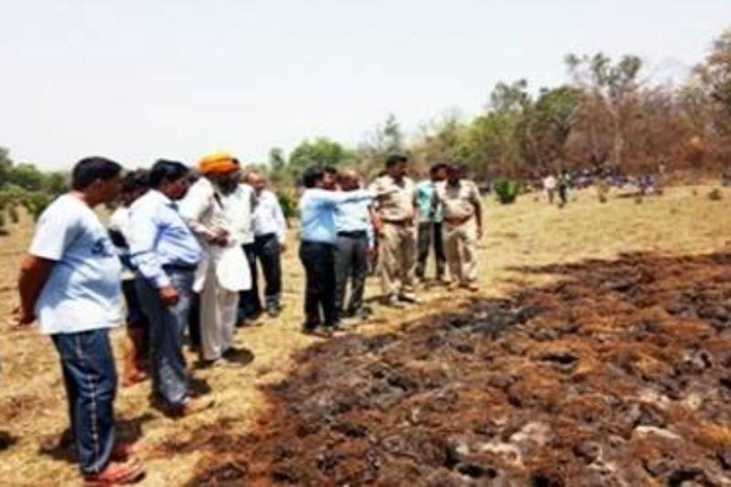 Underground Fires in UP Forests Spark Panic, Villagers Worried About Crops