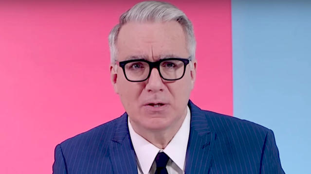 "Keith Olbermann tore into the National Rifle Association for ""enabling such massacres"" as the one that took place in Las Vegas on Sunday night."