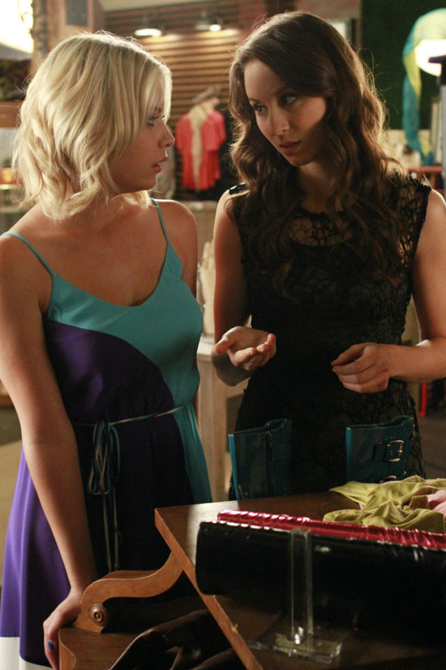 """Spencer learns about Paige's shocking past with Ali, but is Emily ready to listen to what her friends have to say, in """"Single Fright Female,"""" an all new episode of ABC Family's hit original series """"Pretty Little Liars."""""""