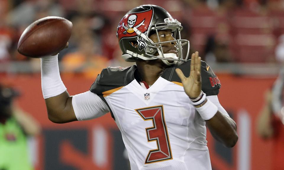 Jameis Winston will be suspended for three games for violating the NFL's personal conduct policy. (Getty)