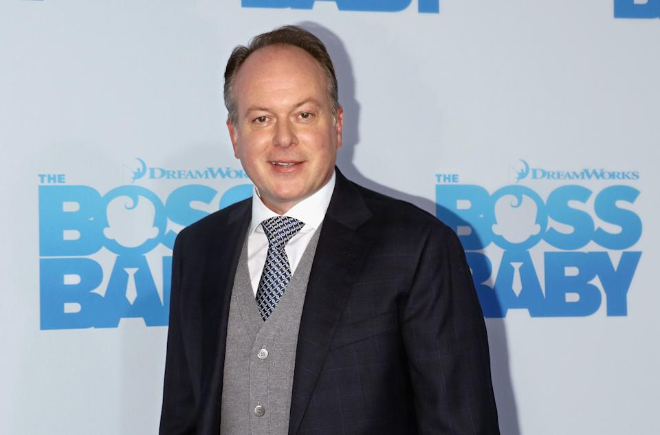 """Director Tom McGrath attends """"The Boss Baby"""" New York premiere on March 20, 2017. (Photo by Jim Spellman/WireImage)"""