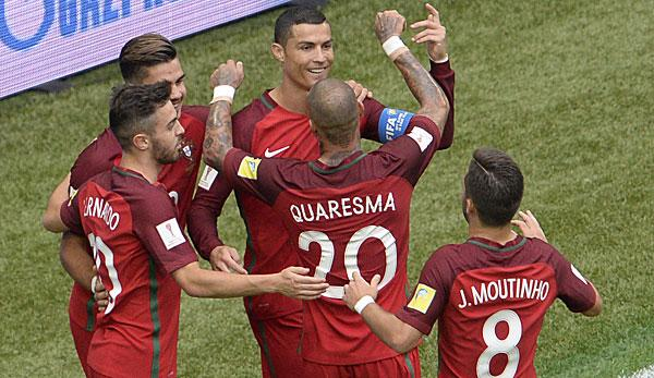 Confed Cup: Alle Infos zu Portugal - Chile