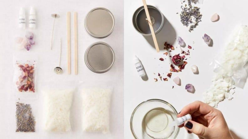 Create a scent that is unique with this DIY kit.