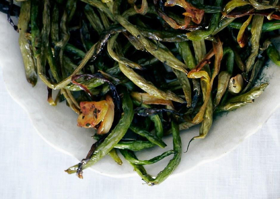 """Slow-roasting the beans with woody herbs gives them serious depth of flavor. <a href=""""https://www.bonappetit.com/recipe/slow-roasted-green-beans-with-sage?mbid=synd_yahoo_rss"""" rel=""""nofollow noopener"""" target=""""_blank"""" data-ylk=""""slk:See recipe."""" class=""""link rapid-noclick-resp"""">See recipe.</a>"""