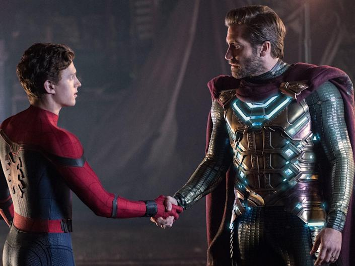 spider man far from home peter parker mysterio