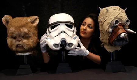 Dinosaurs, droids and holy hand-grenade up for grabs at film auction
