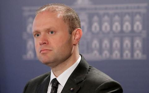<span>Maltese prime minister Joseph Muscat is under pressure to resign</span> <span>Credit: REX </span>