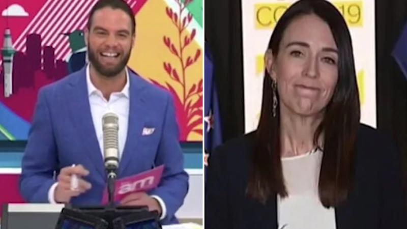 Jacinda Ardern shuts down TV host after awkward question