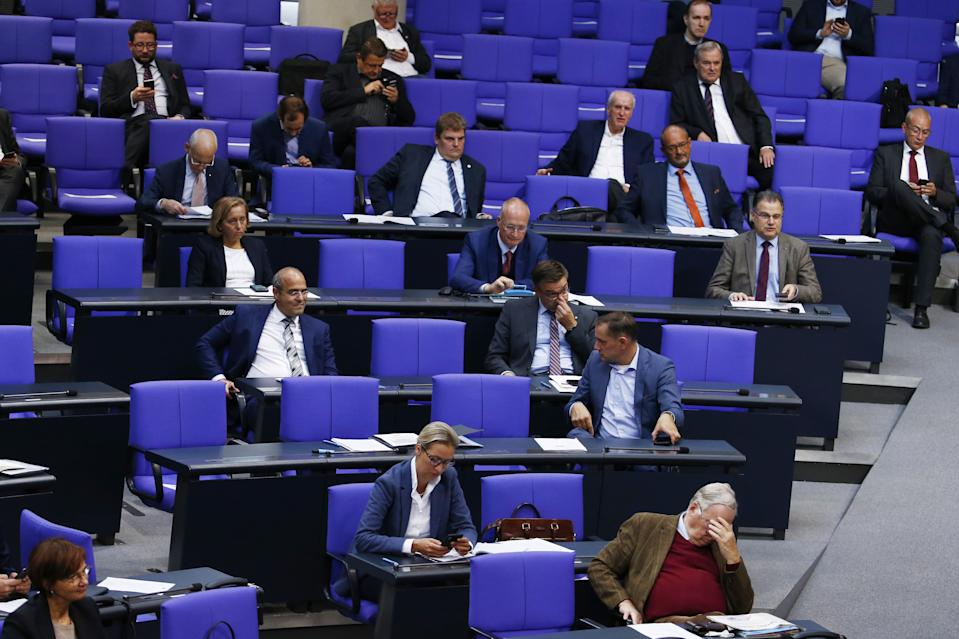Die AfD-Fraktion im Bundestag (Bild: Michele Tantussi/Getty Images)