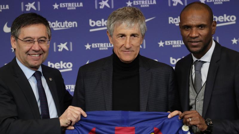 Quique Setien: Yesterday I was walking with cows around me, now I'm at Barcelona
