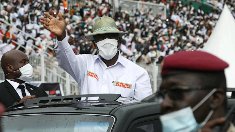 Ivorian ruling party approves Ouattara's re-election bid