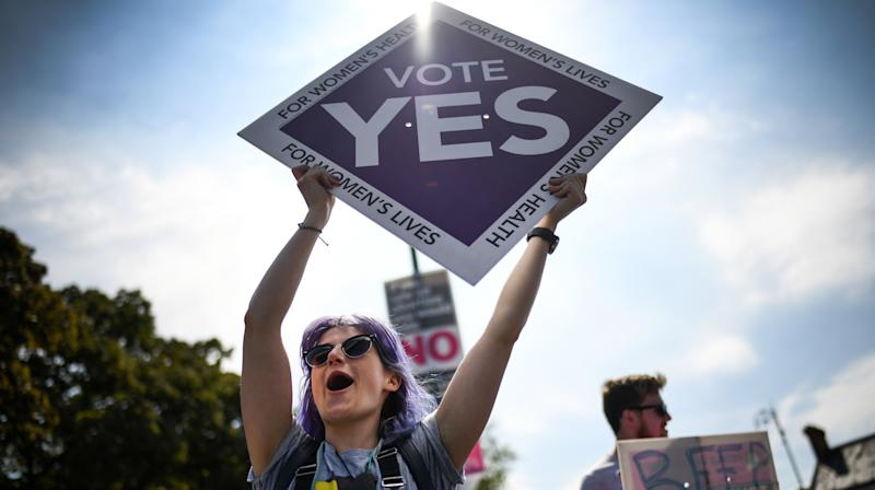 Thousands Travel Home To Ireland To Vote On Abortion Access