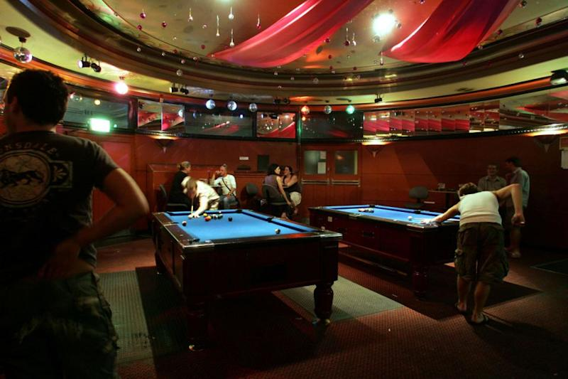 The main bar at The Impy in 2005, a troubled time for the historic venue. Photo: Getty