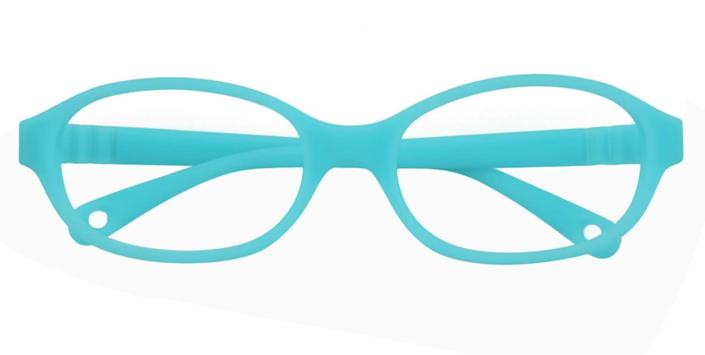 """These <a href=""""https://fave.co/2WNnNrm"""" rel=""""nofollow noopener"""" target=""""_blank"""" data-ylk=""""slk:colorful blue light-blocking glasses for kids"""" class=""""link rapid-noclick-resp"""">colorful blue light-blocking glasses for kids</a> come in four colors. Find them for $25 at <a href=""""https://fave.co/2WNnNrm"""" rel=""""nofollow noopener"""" target=""""_blank"""" data-ylk=""""slk:Glasses Shop"""" class=""""link rapid-noclick-resp"""">Glasses Shop</a>."""