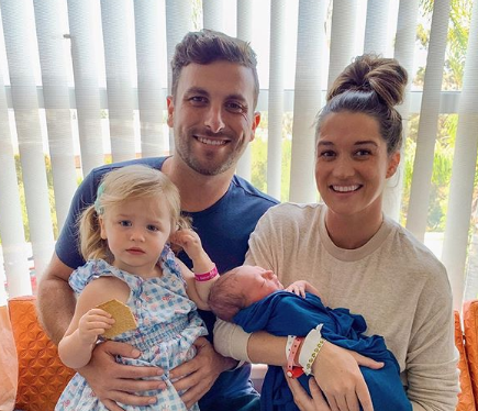 Tanner Tolbert talks about his sex life with wife Jade Roper after welcoming baby number 2. (Photo: Instagram)