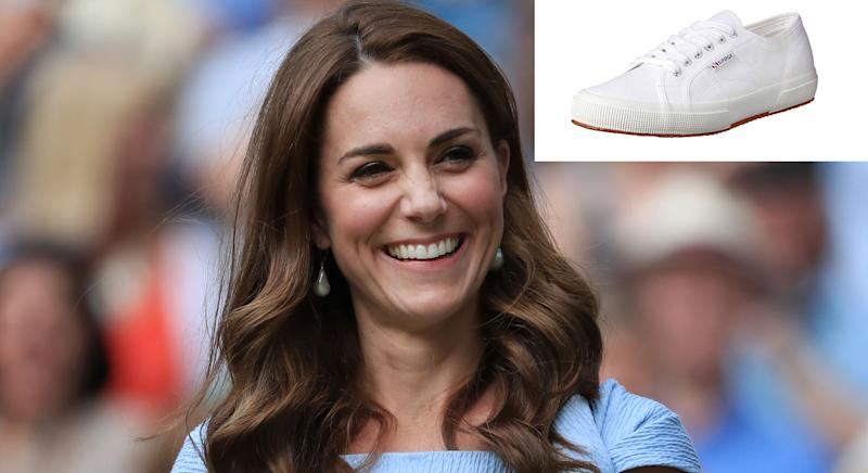 The Duchess of Cambridge's favourite trainers are on sale.