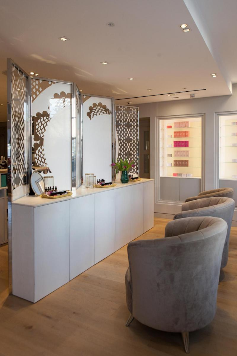 Skin Design salon in Fortnum & Mason