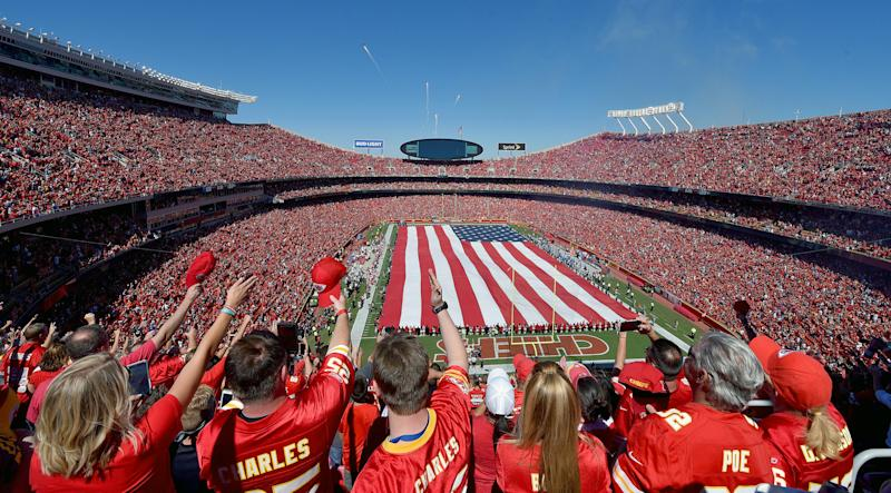 The House GOP tax reform plan proposes eliminating a provision that has encouraged state and local governments to put billions of dollars in public tax money toward new sports stadiums. (John Sleezer/Kansas City Star via Getty Images)