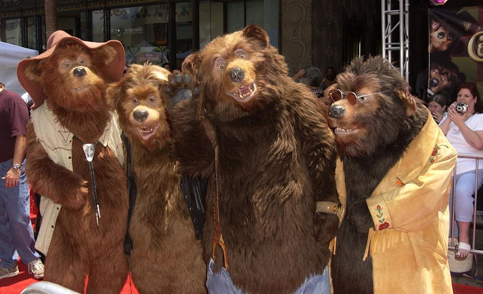 """Country Bears during """"The Country Bears"""" Premiere at El Capitan Theatre in Hollywood, California, United States. (Photo by SGranitz/WireImage)"""