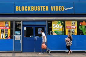 Blockbuster in administration