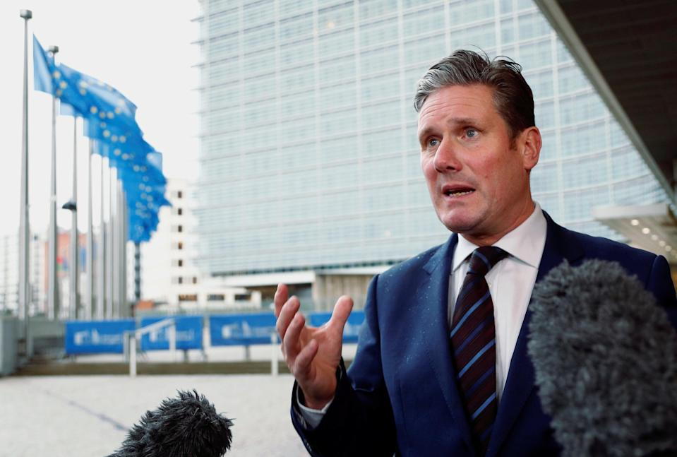 "Shadow Brexit secretary Keir Starmer said the comments show Sunday's summit is ""not the end of the debate"" (Reuters)"