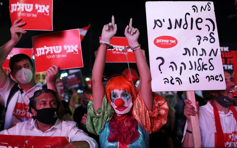 Protests Tel Aviv - ABIR SULTAN/EPA-EFE