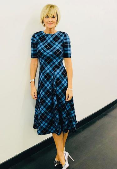 ea7d74937595 The Zara checked dress that Jane Moore and Lorraine Kelly can't get ...