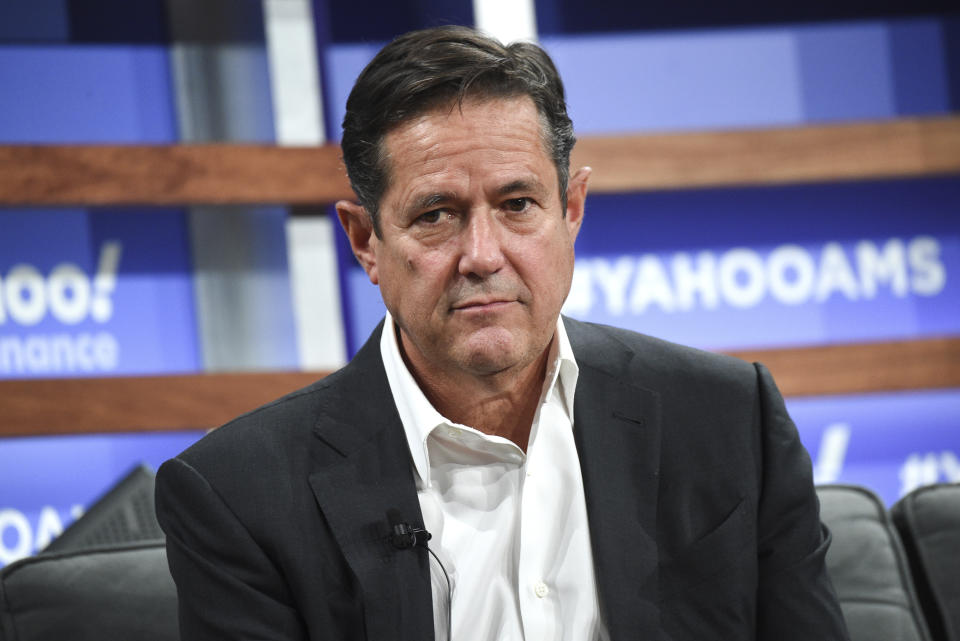 Barclays CEO Jes Staley participates in the Yahoo Finance All Markets Summit at Union West on Thursday, Oct. 10, 2019, in New York. (Photo by Evan Agostini/Invision/AP)