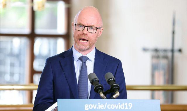 Stephen Donnelly: Ireland's cabinet 'restricting their movements' after health minister had COVID-19 test