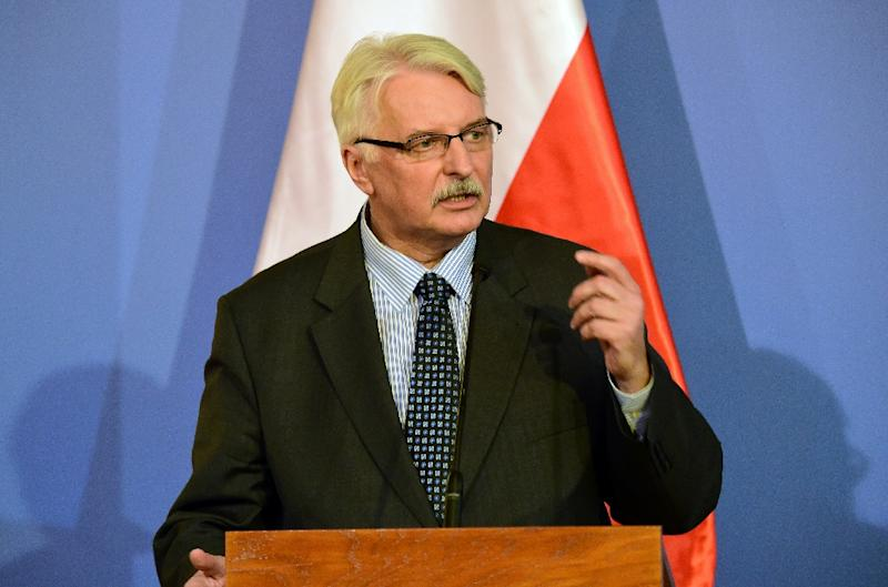 Image result for polish foreign minister